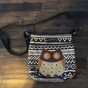 UnionBay crossbody Owl purse